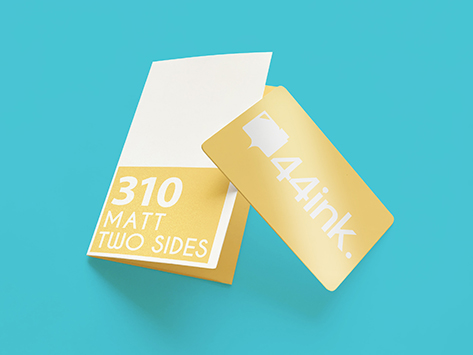 310gsm Matt Two Sides