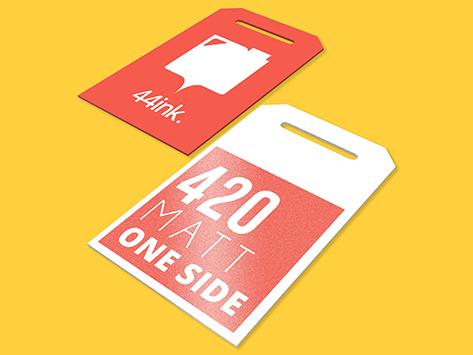420 Matt One Side