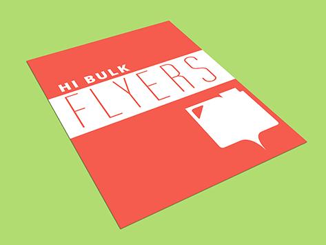 Hi Bulk Flyers
