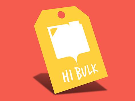 Hi Bulk Swing Tags
