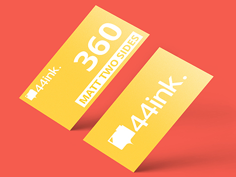 360 gsm Matt Two Sides