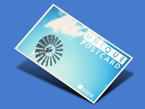 Unique Postcard